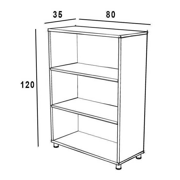 کتابخانه چوبی 6132-1