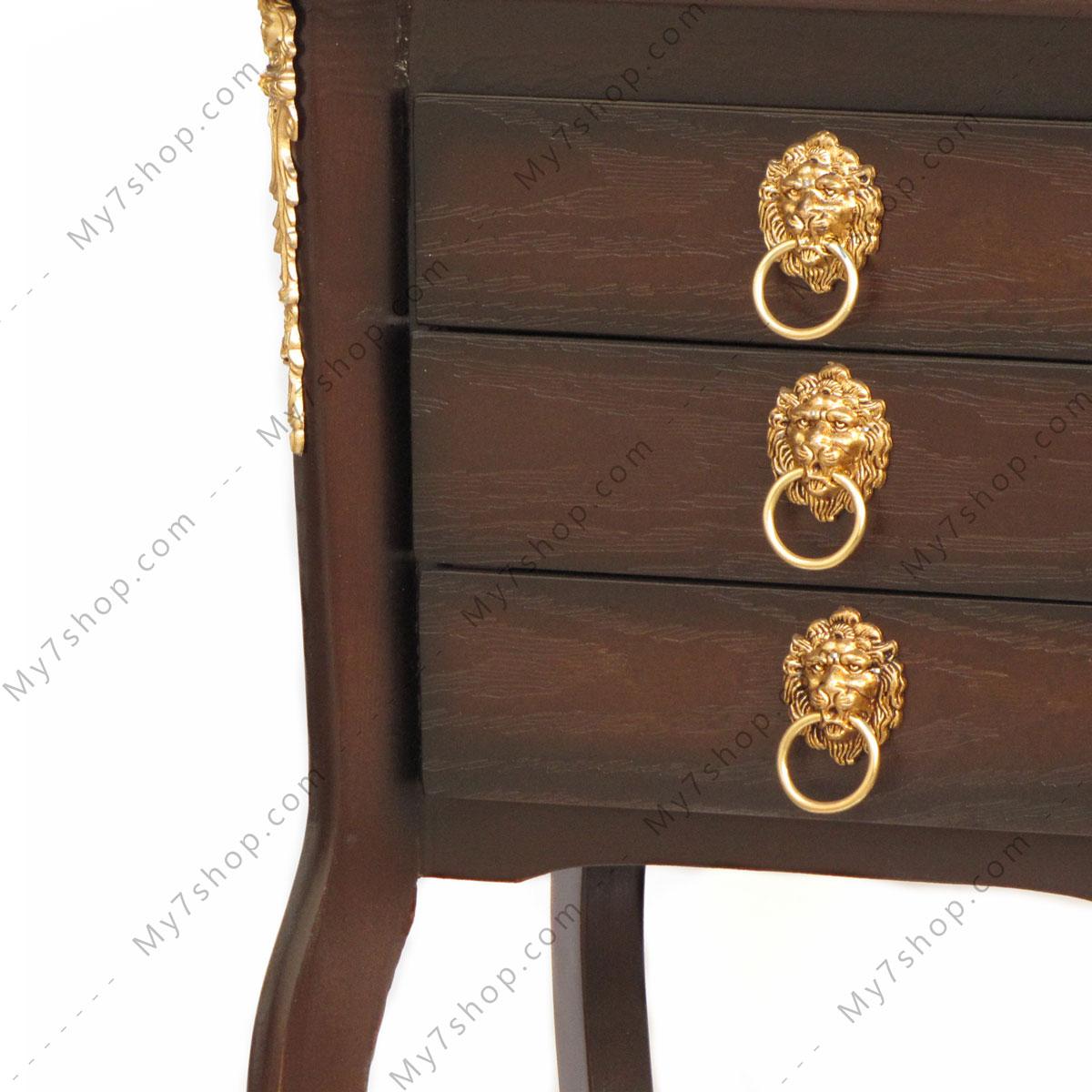 میز تلفن چوبی پاتریس